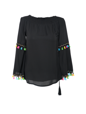 bash blouse nura zwart