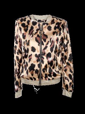 bomber jas leopard
