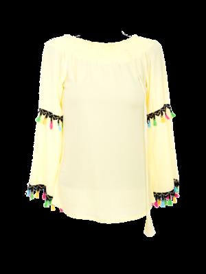 bash blouse nura geel