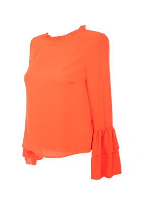 blouse pari orange